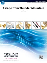 Escape from Thunder Mountain - Concert Band