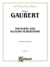 Gaubert: Nocturne and Allegro Scherzando - Woodwinds