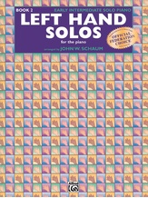 Left-Hand Solos, Book 2 (for left hand alone) - Piano