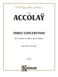 Accolaÿ: Three Concertinos - String Instruments