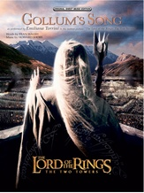 Gollum's Song (from The Lord of the Rings: The Two Towers) - Piano/Vocal/Chords