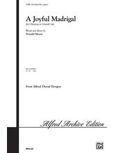 A Joyful Madrigal - Choral
