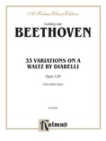Beethoven: Diabelli Variations - Piano