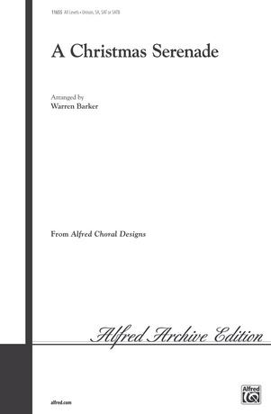 A Christmas Serenade - Choral