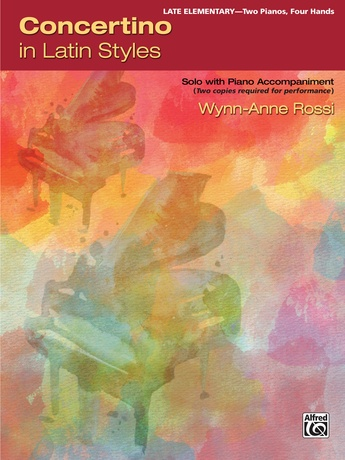 Concertino in Latin Styles: Solo with Piano Accompaniment - Piano Duo (2 Pianos, 4 Hands) - Piano Duets & Four Hands