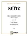 Seitz: Student's Concerto No. 4 in D Major, Op. 15 - String Instruments
