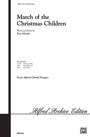 March of the Christmas Children - Choral