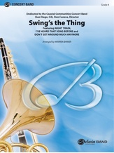 Swing's the Thing - Concert Band