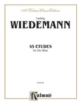 Wiedemann: 45 Etudes - Woodwinds