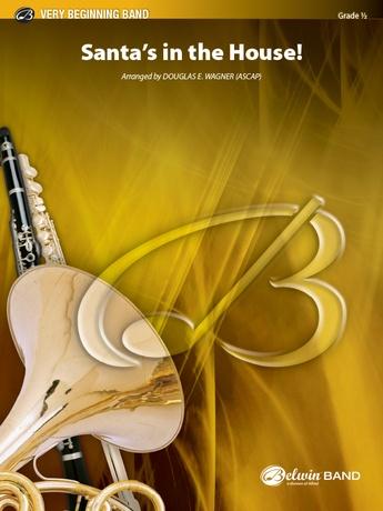 Santa's in the House!: E-flat Alto Saxophone: Douglas E