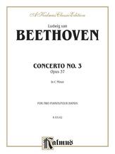 Beethoven: Piano Concerto No. 3 in C Minor, Opus 37 - Piano Duets & Four Hands