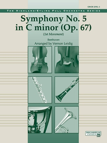 Beethoven's Symphony No  5, 1st Movement: Ludwig van