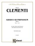 Clementi: Gradus ad Parnassum (Volume I) - Piano