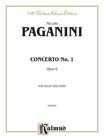 Paganini: Concerto No. 1 in D Major, Op. 6 (Arr. Carl Flesch) - String Instruments