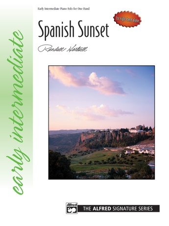 Spanish Sunset (for right hand alone) - Piano Solo - Piano