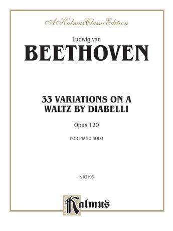 Beethoven: Diabelli Variations - Piano