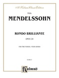 Mendelssohn: Rondo Brillante - Piano Duets & Four Hands