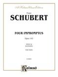 Schubert: Four Impromptus, Op. 142 (Ed. Giuseppe Buonamici) - Piano