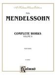 Mendelssohn: Complete Works (Volume II) - Piano