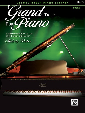 Grand Trios for Piano, Book 2: 4 Elementary Pieces for One Piano, Six Hands - Piano