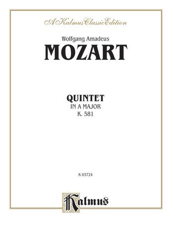 Quintet, K. 581 - Chamber Quintet