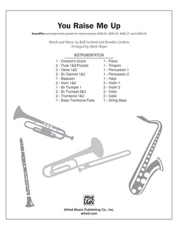 You Raise Me Up Brendan Graham Choral Pax Sheet Music