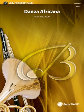 Danza Africana: B-flat Tenor Saxophone: Victor López