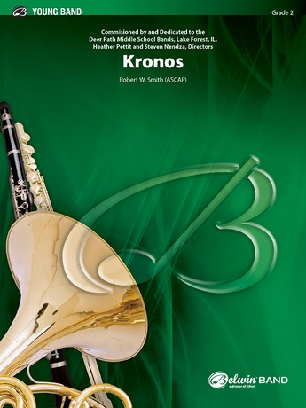 Kronos: Flute: Robert W  Smith | Concert Band Sheet Music