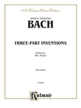 Bach: Three-Part Inventions (Ed. Mason) - Piano