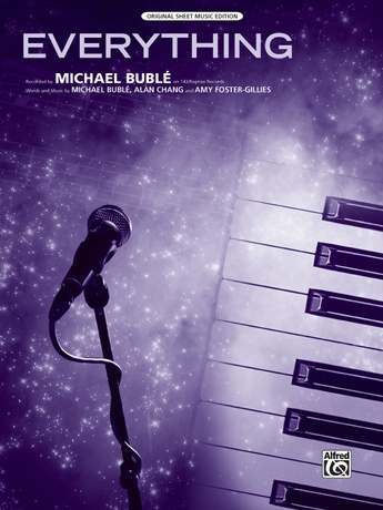 Everything Michael Buble Pianovocalchords Sheet Music