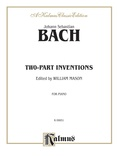 Bach: Two-Part Inventions (Ed. Mason) - Piano