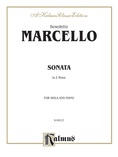 Marcello: Sonata in E Minor - String Instruments
