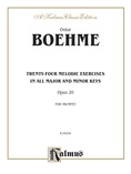 Boehme: Twenty-four Melodic Exercises (in all Major and Minor Keys), Op. 20 - Brass