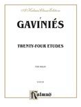 Gaviniés: Twenty-Four Etudes - String Instruments