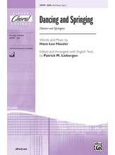 Dancing and Springing (Tanzen und Springen) - Choral