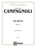 Campagnoli: Six Duets, Op. 14 - String Ensemble