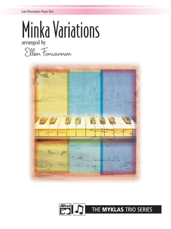 Minka Variations - Piano Trio (1 Piano, 6 Hands) - Piano