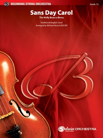 Sans Day Carol - String Orchestra
