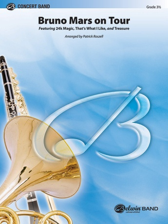 Bruno Mars on Tour - Concert Band
