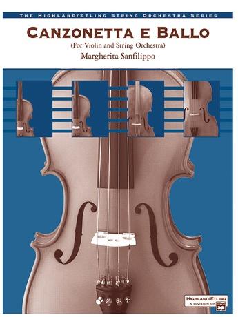 Canzonetta e Ballo (solo violin and string orchestra) - String Orchestra