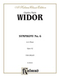 Widor: Symphony No. 6 in G Minor, Op. 42 - Organ