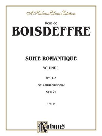 Boisdeffre: Suite Romantique, Op. 24 (Nos. 1-3) - String Instruments