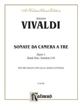 Vivaldi: Sonatas da Camera a Tre (Book I, Nos. 1-6) - String Ensemble