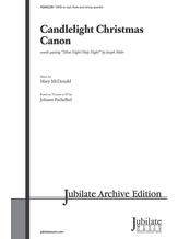 Candlelight Christmas Canon - Choral