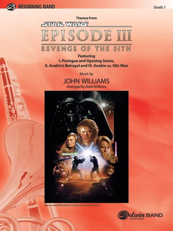 Star Wars Episode Iii Revenge Of The Sith Themes From Tuba John Williams Concert Band Sheet Music