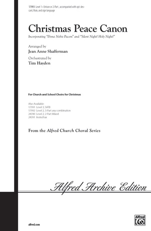 Christmas Peace Canon - Choral