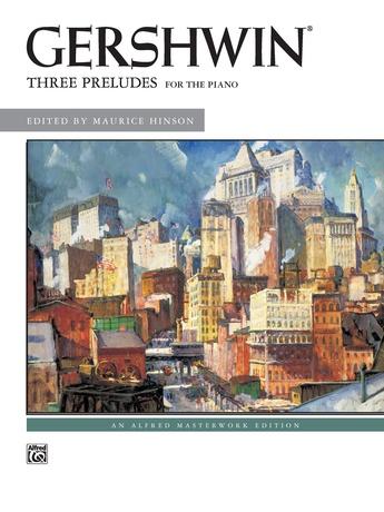 George Gershwin: Three Preludes - Intermediate / Advanced Piano Collection - Piano