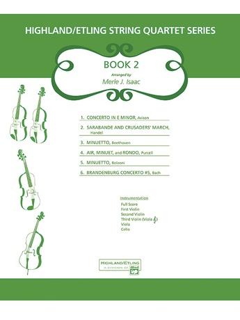 Highland/Etling String Quartet Series: Set 2 - String Quartet