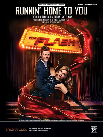 Runnin' Home to You (From the Television Series <i>The Flash</i>) - Piano/Vocal/Guitar