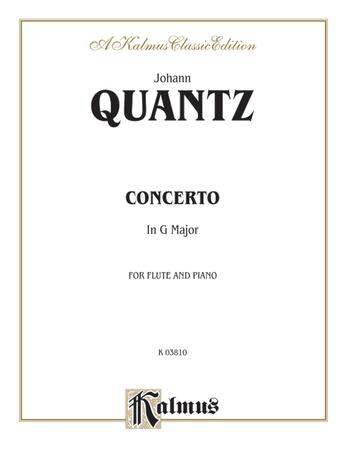 Quantz: Concerto in G Major - Woodwinds